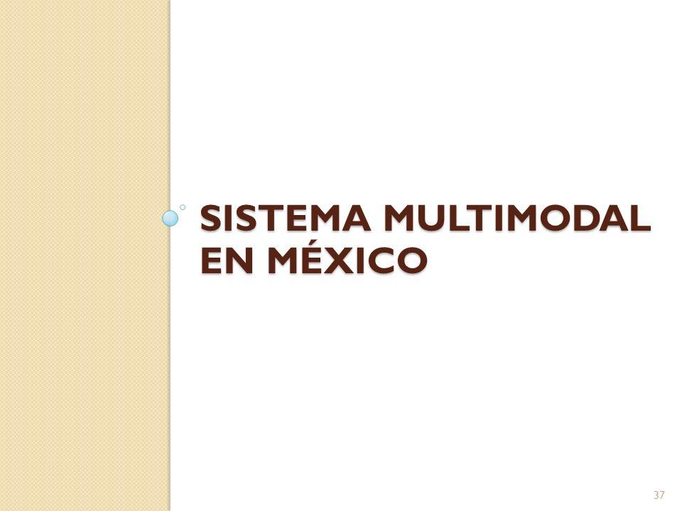 SISTEMA MULTIMODAL EN MÉXICO 37