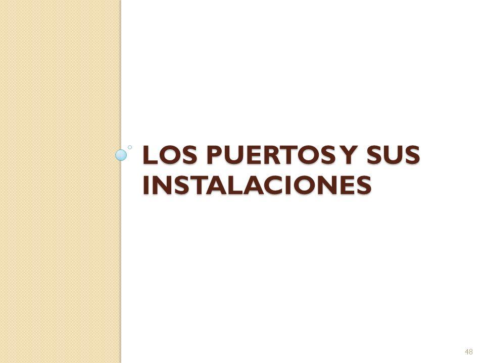 LOS PUERTOS Y SUS INSTALACIONES 48
