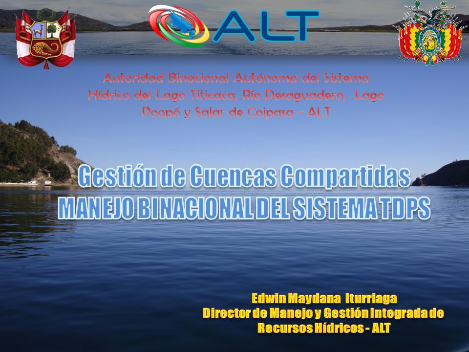 AUTORIDAD LOCAL DE LAGUA MUNICIPIOS ORGANIZACIONES DE USUARIOS Y SOCIALES AUTORIDAD NACIONAL DEL AGUA ARTICULACION INSTITUCIONAL GOBIERNO REGIONAL PLAN DE GESTION DE RECURSOS HIDRICOS DE LA CUENCA