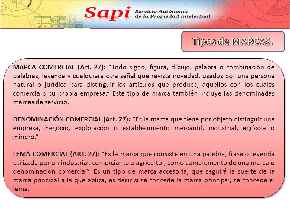 MARCA COMERCIAL (Art.