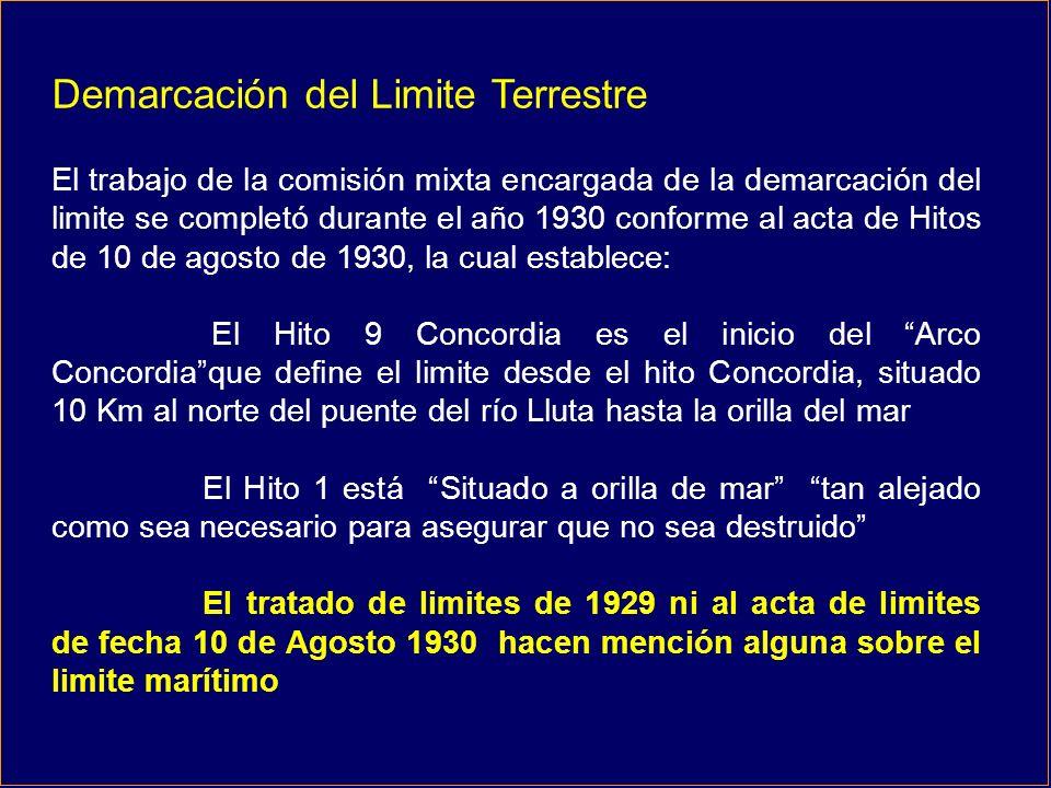 Negociaciones tendientes a resolver el enclaustramiento de Bolivia posteriores a la firma del Tratado de 1929 entre Chile y Perú 1975 - 1978 Abrazo de Charaña, Chile ofrece un corredor al norte de Arica y canje de territorios.