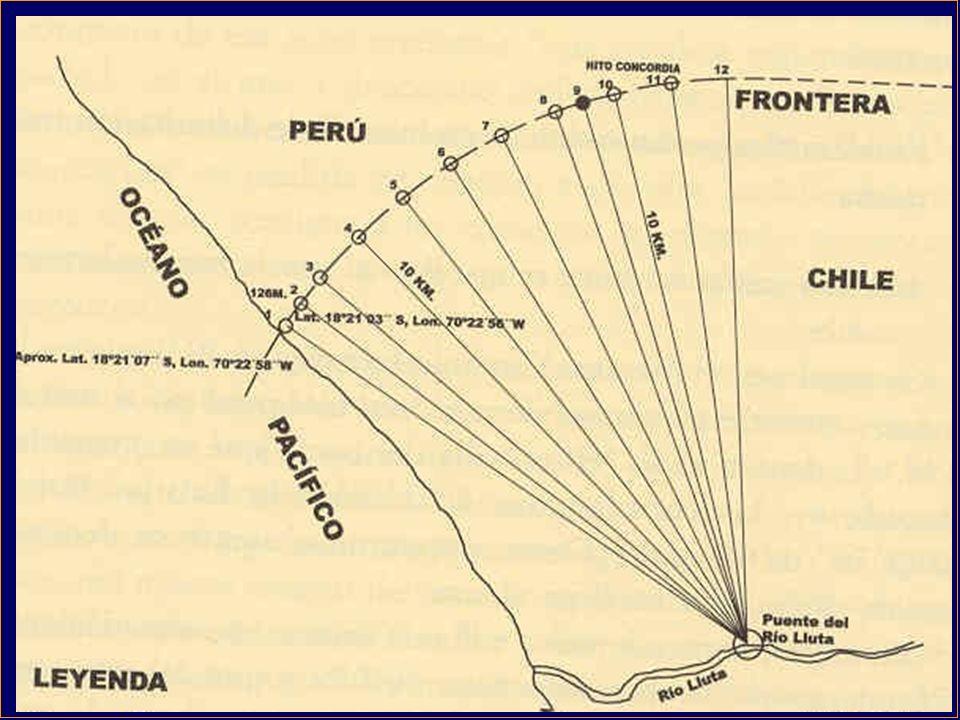 TRATADO DE ANCÓN (1884) Plebiscito para Tacna y Arica en 1894.