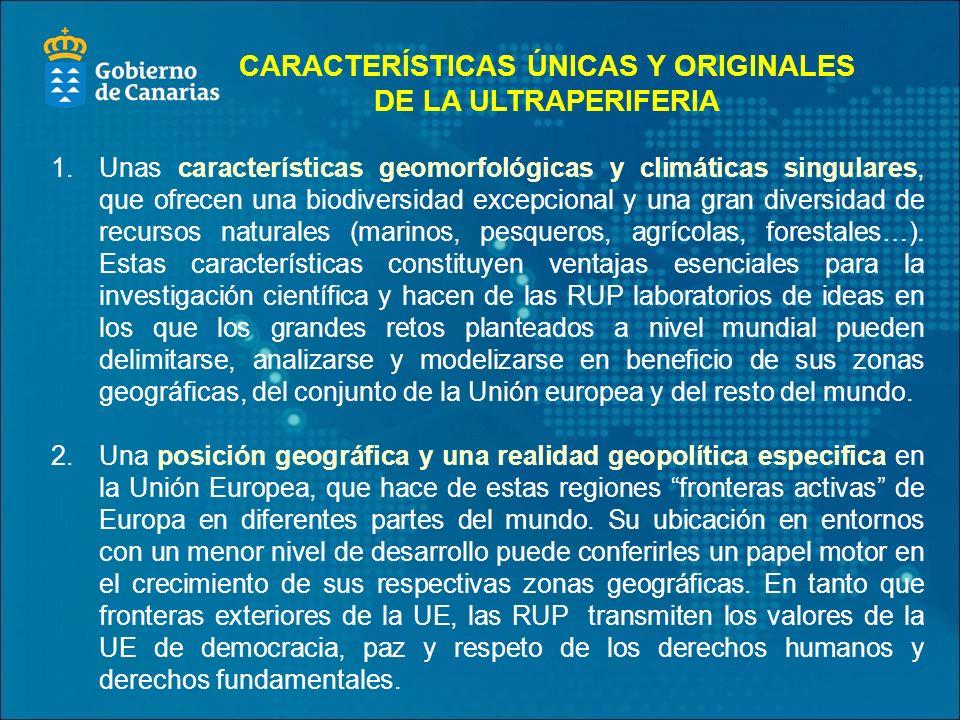 1. Unas características geomorfológicas y climáticas singulares, que ofrecen una biodiversidad excepcional y una gran diversidad de recursos naturales