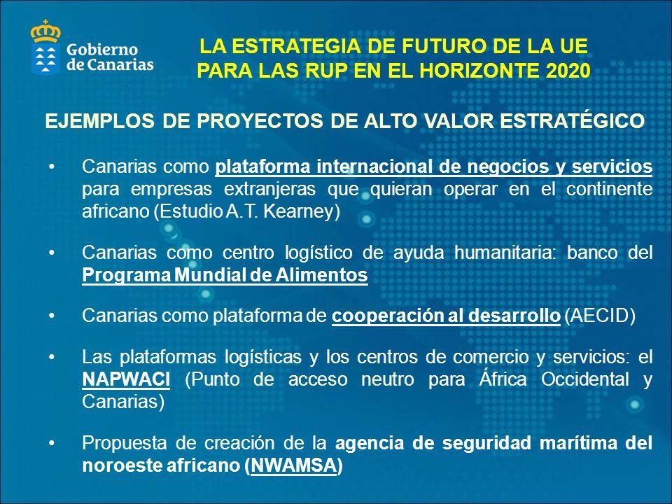 Canarias como plataforma internacional de negocios y servicios para empresas extranjeras que quieran operar en el continente africano (Estudio A.T.