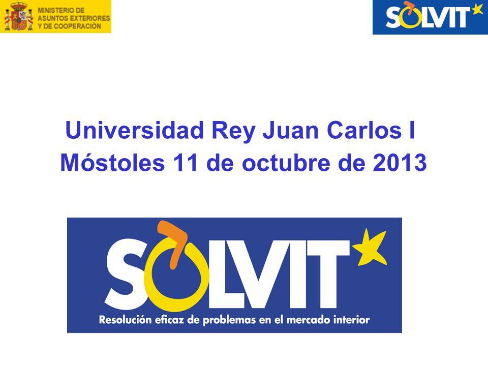 Universidad Rey Juan Carlos I Móstoles 11 de octubre de 2013