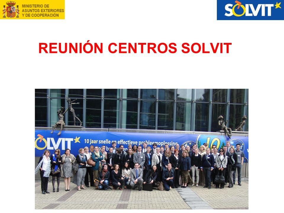 REUNIÓN CENTROS SOLVIT