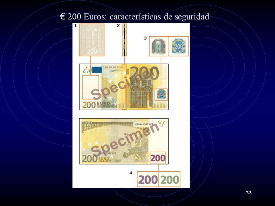 22 200 Euros: características de seguridad