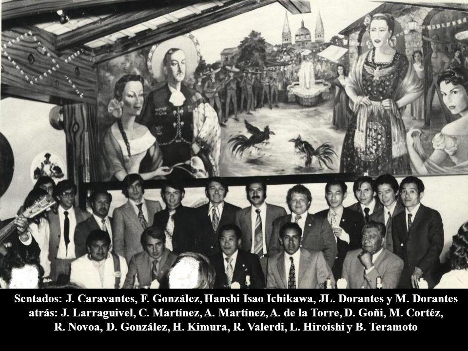1973, marzo 29 México, D.F. Restaurante El Gallo Cena oficial de fin de cursos (el 1 de abril tuvo lugar la graduación en las instalaciones de la Secr