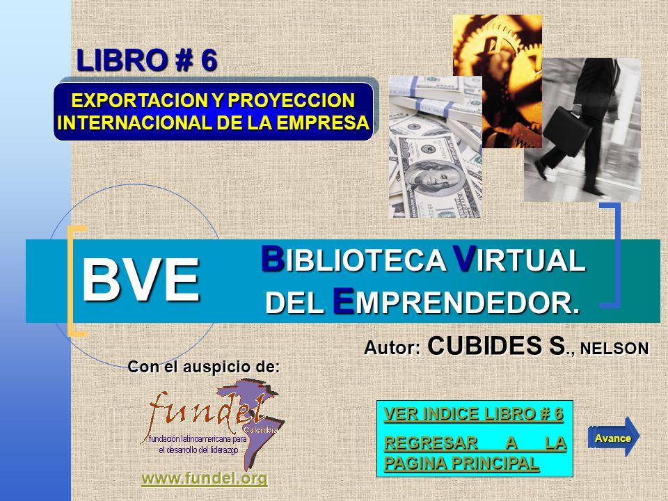 61 Regresar al INDICE Regresar al INDICE Atrás Avance BVE - Biblioteca Virtual del Emprendedor CUBIDES S., Nelson nelsoncubides@fundel.org nelsoncubides@fundel.org