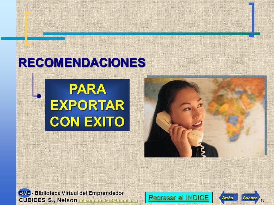 17 EMPRENDEDORES EXPORTADORES 7.