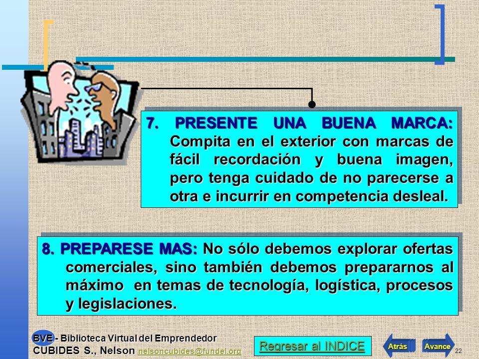 21 5.TENGA EN CUENTA LA TASA DE CAMBIO: Proyecte el cambio para no perder competitividad.