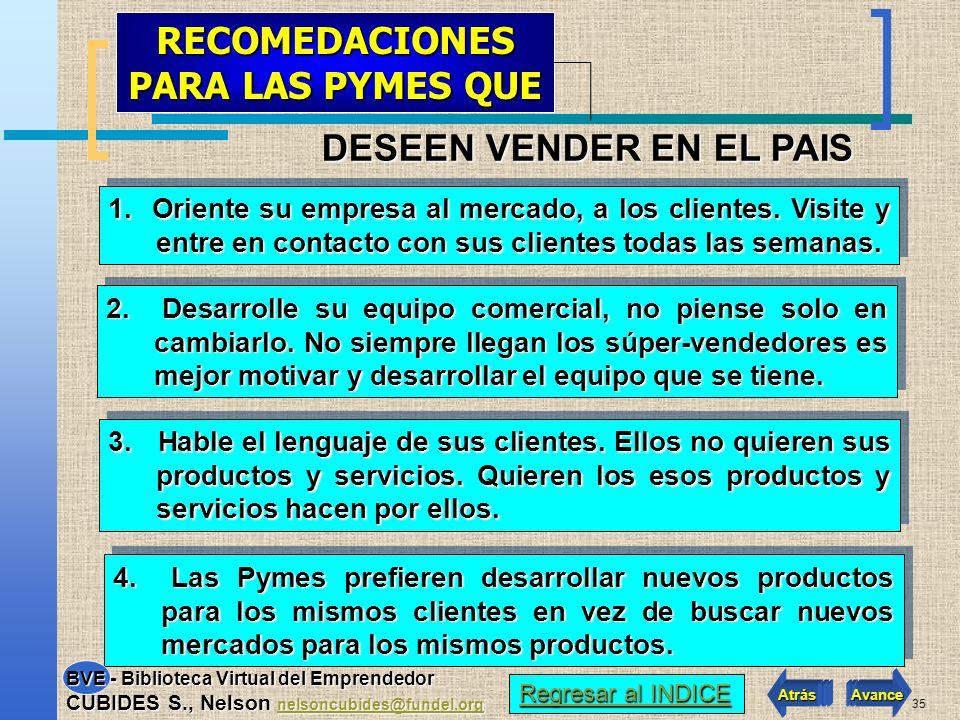 34 Las ventajas de explorar Colombia son muchas: No hay barreras arancelarias, limitaciones de idioma, procesos logísticos complejos, conversiones de moneda, no cartas de crédito, ni grandes respaldos.