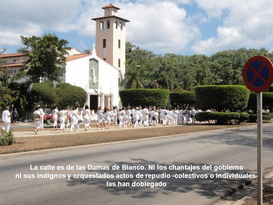Todos los domingos, junto a las Damas de Blanco caminan miles de personas. Camina el pueblo… Camina la dignidad humana