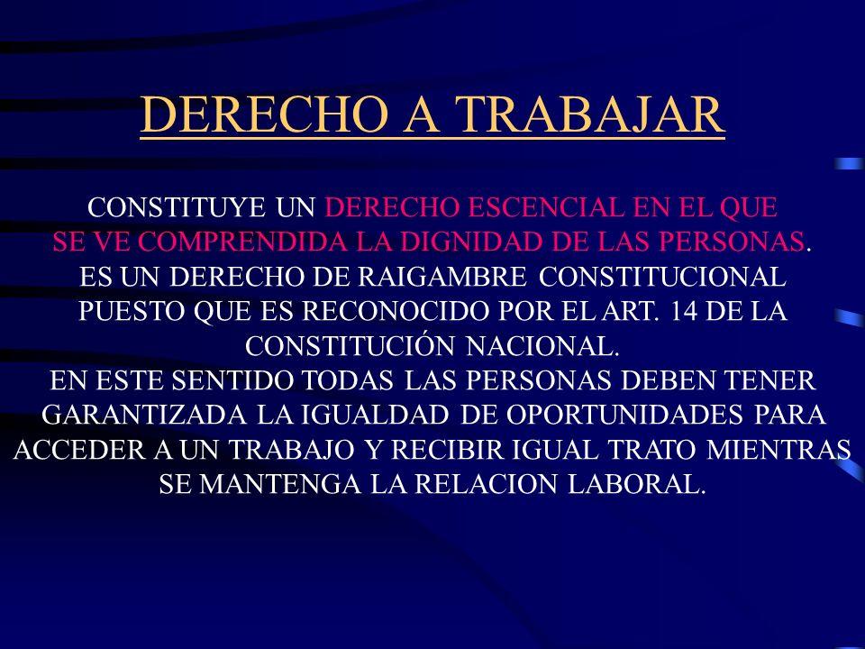 CONTINGENCIAS SOCIALES * ENFERMEDAD * INVALIDEZ (L.C.T.tareas adecuadas y jubilación) *VEJEZ (jubilación ordinaria o por edad avanzada del régimen pre