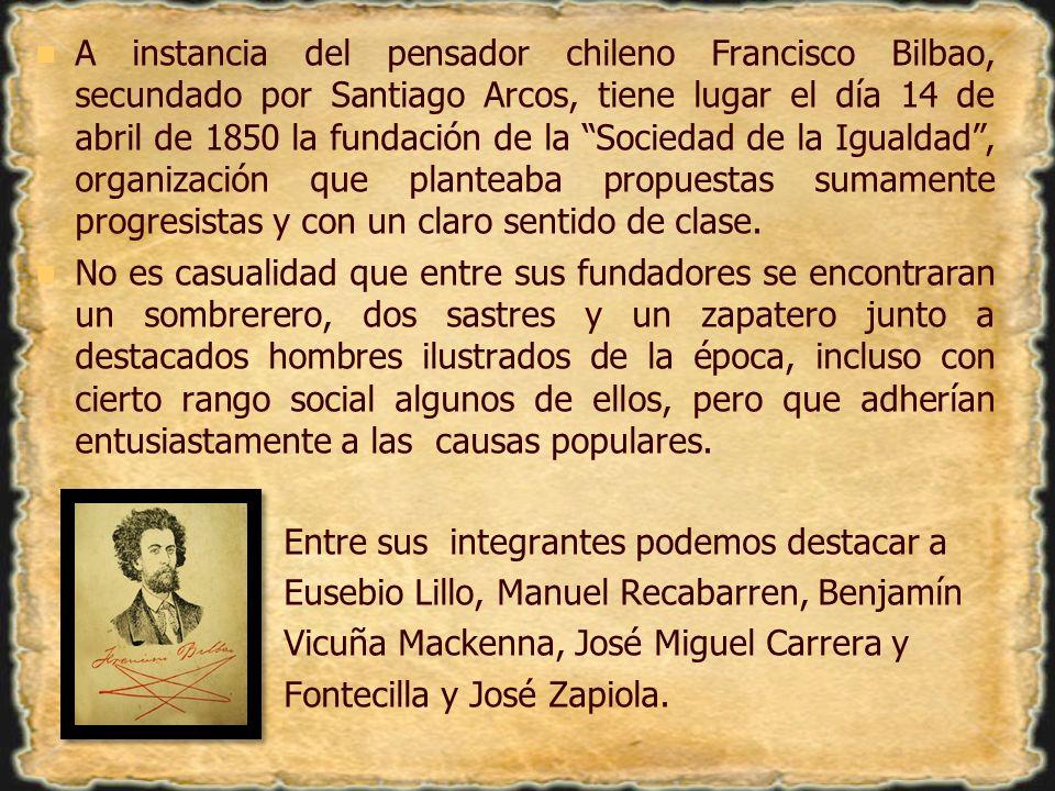 La Sociedad tenía por objetivo principal la formación de una Escuela de Educación y Propaganda para el proletariado político y social.