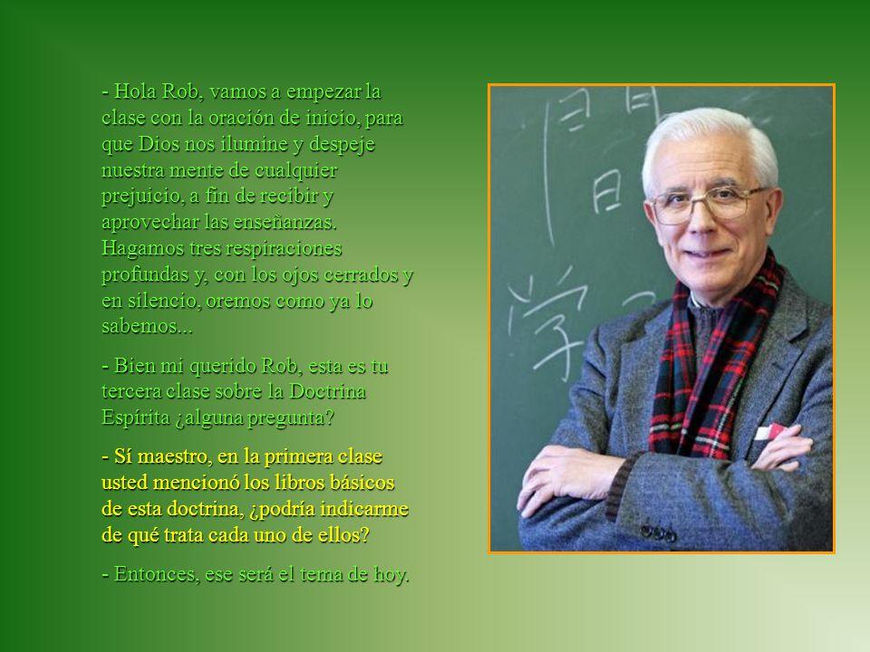 Federación Espírita Española www.amaliadomingosoler.divulgacion.org- Maestro, dígame ¿dónde puedo conseguir esos libros.
