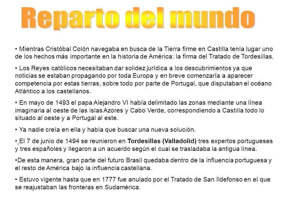 Mientras Cristóbal Colón navegaba en busca de la Tierra firme en Castilla tenía lugar uno de los hechos más importante en la historia de América: la f