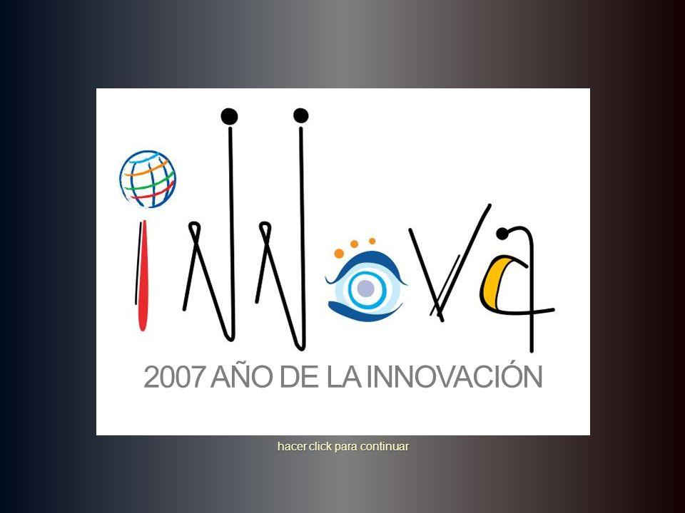 …una mente, dos cerebros… hacer click para continuar © Idea Champions, 2003 2007 AÑO DE LA INNOVACIÓN