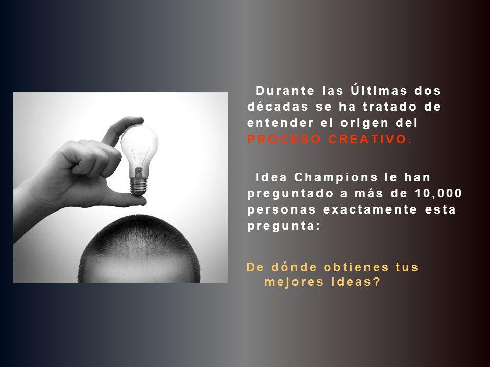 © Idea Champions, 2003 F I N pps creado y desarollado por Reedición de formato e incorporación del test de la bailarina cortesía de Carlos Rangel Santiago de Querétaro, Mex.