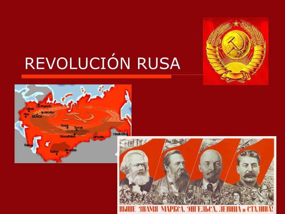 LA REVOLUCIÓN DE 1917: LOS GOBIERNOS PROVISIONALES Siete meses muy convulsos entre marzo y octubre que dio lugar a gobiernos débiles de corta duración.