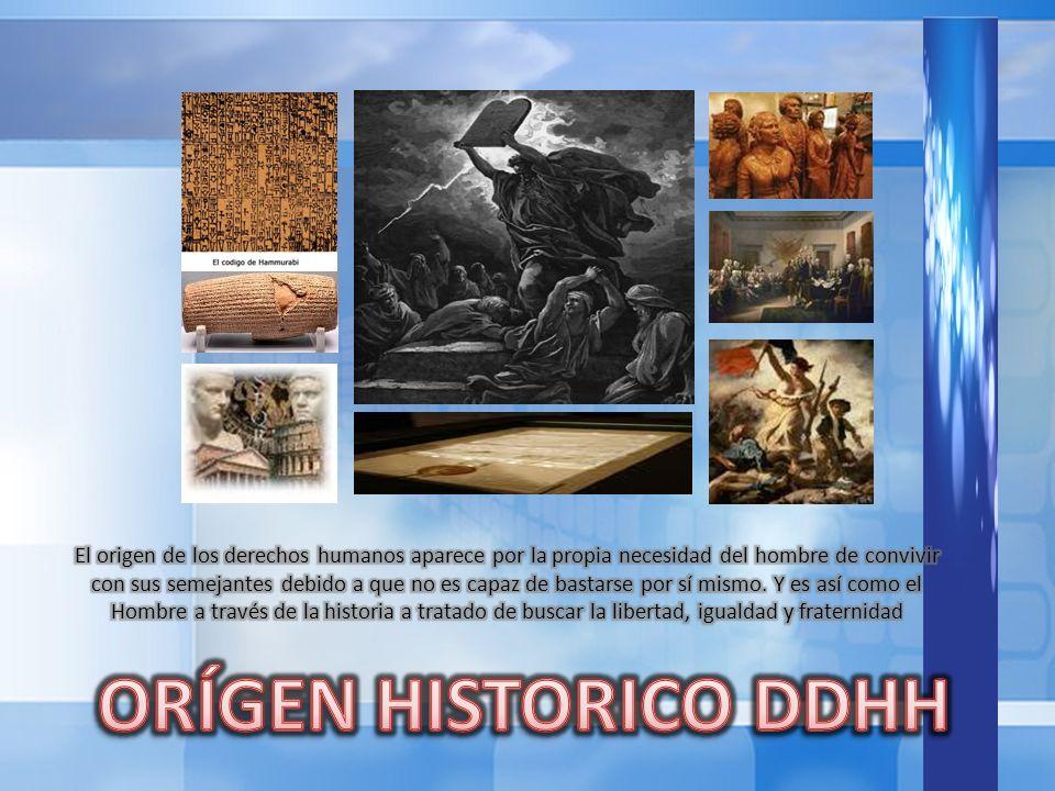 I GUERRA MUNDIAL / Tratado de Versalles / Sociedad de Naciones II GUERRA MUNDIAL / Organización de Naciones Unidas 1948 Declaración de los Derechos Humanos 1993 Declaración de Viena