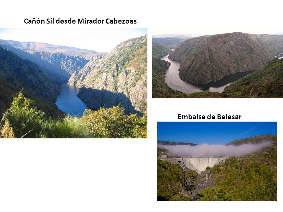 Cañón Sil desde Mirador Cabezoas Embalse de Belesar