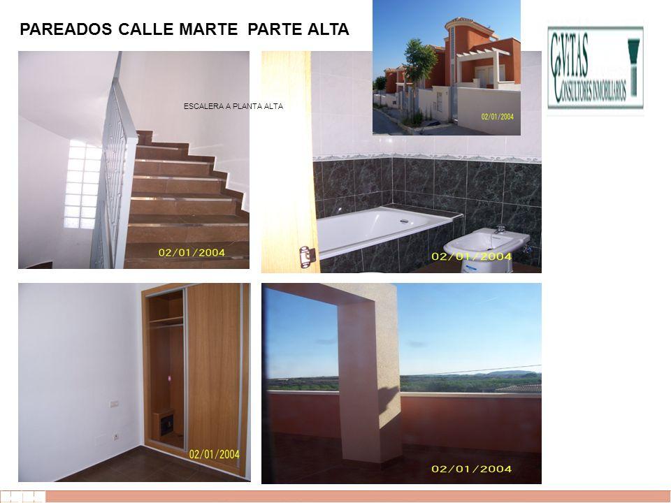 EVALUE finanzas corporativas PAREADOS CALLE MARTE PARTE ALTA ESCALERA A PLANTA ALTA