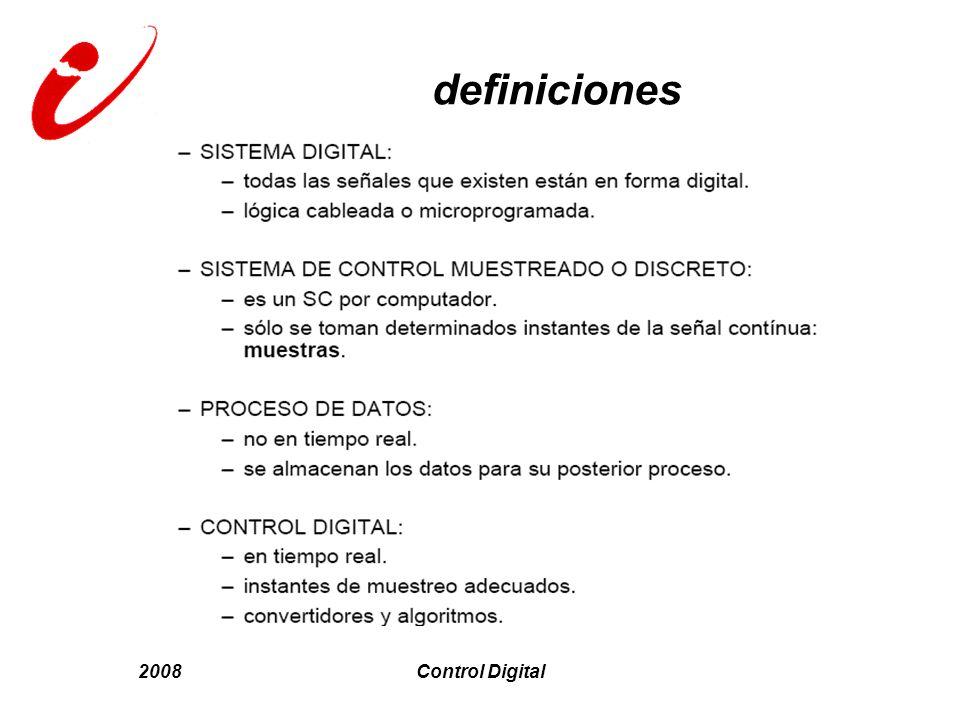 2008Control Digital definiciones