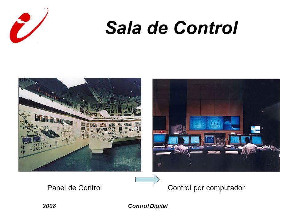 2008Control Digital Sala de Control Panel de Control Control por computador