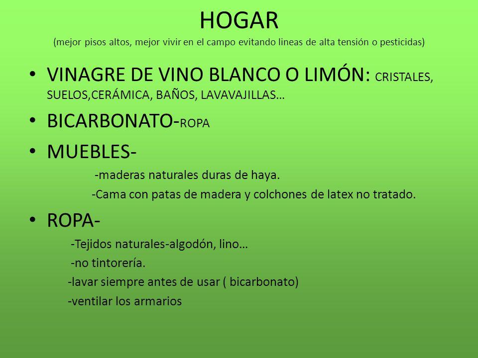 Baño Blanco De Limon: de alta tensión o pesticidas) VINAGRE DE VINO BLANCO O LIMÓN