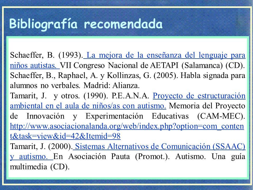 Programa de Comunicación Total- Habla Signada de B.