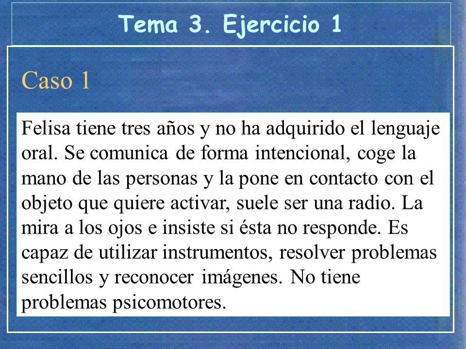 Caso 2 Paloma tiene tres años y no ha adquirido el lenguaje oral.