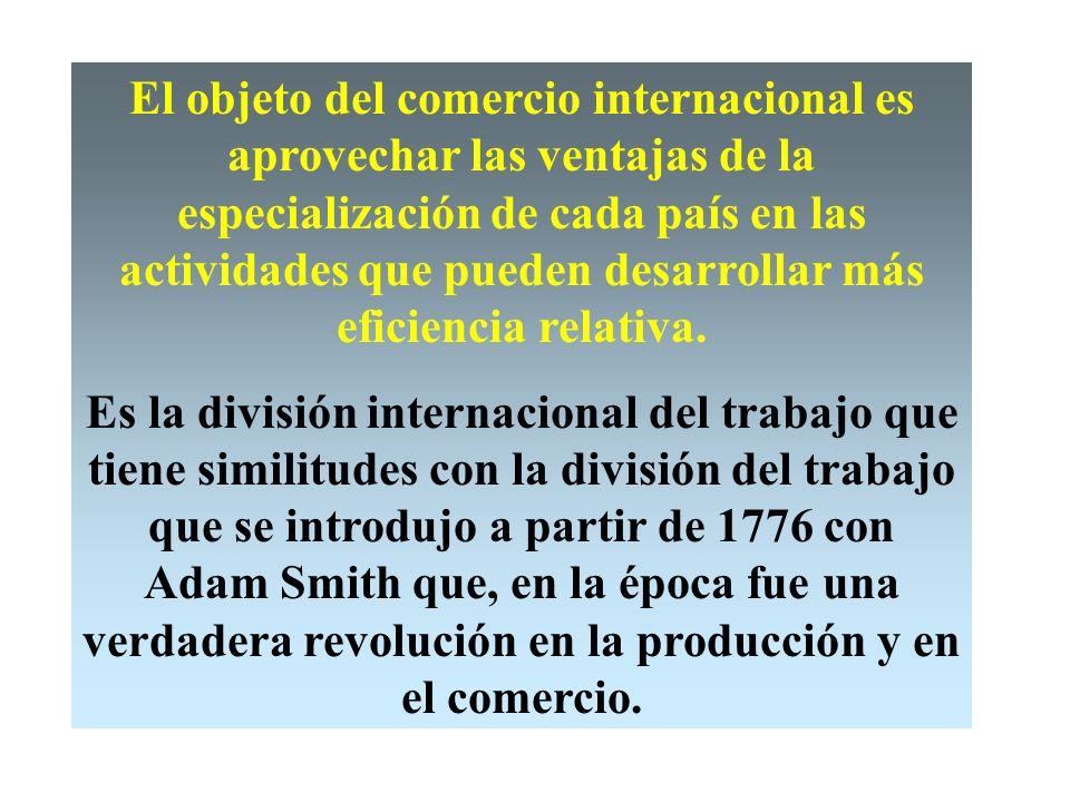 Comercio internacional Muchos acontecimientos importantes influyen hoy en los negocios, que han pasado a ser globales más que nacionales o regionales,