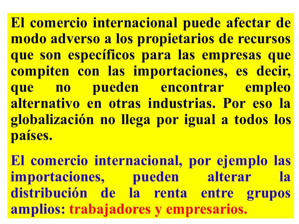 En respuesta a los efectos de la interdependencia económica mundial, la comunidad económica ha hecho esfuerzos a favor de la cooperación internacional