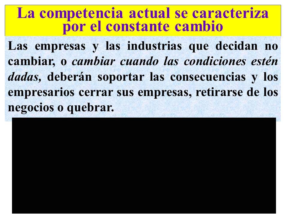 No es posible siquiera pensar en competir en el siglo XXI con naciones y empresas basadas en principios, paradigmas, formas de conducta e ideas del si