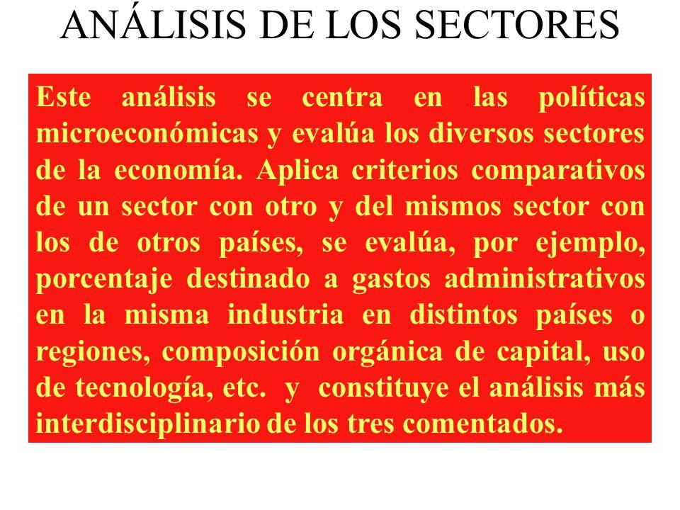 Con este criterio se considera que la competitividad de las empresas de cada país es la resultante del clima macroeconómico en que ellas actúan. Por e