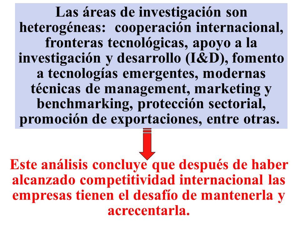 ANÁLISIS DE LOS SECTORES Este análisis se centra en las políticas microeconómicas y evalúa los diversos sectores de la economía. Aplica criterios comp