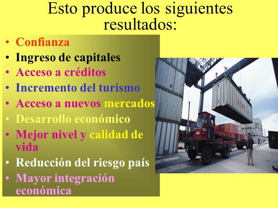 Los tratados y convenios y el comercio internacional, según la actual concepción, se basan en el marketing del país. ¿Qué significa esto? Que es neces