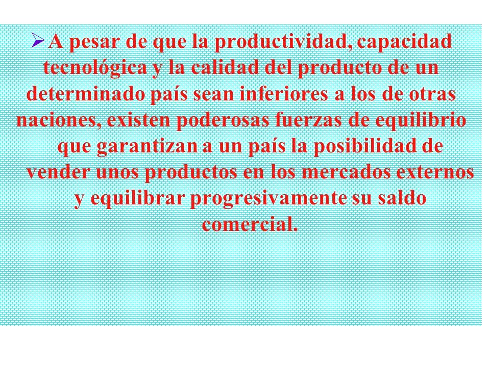 Relación entre ventajas de empresas, industrias y países Los estudios sobre al relación entre industrias y empresas de un país son necesarios para com
