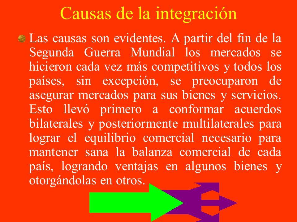 Origen de la integración económica INTEGRACIÓN ECONÓMICA. Es el conjunto de actividades que se acuerdan entre dos o más países, planeadas de común acu