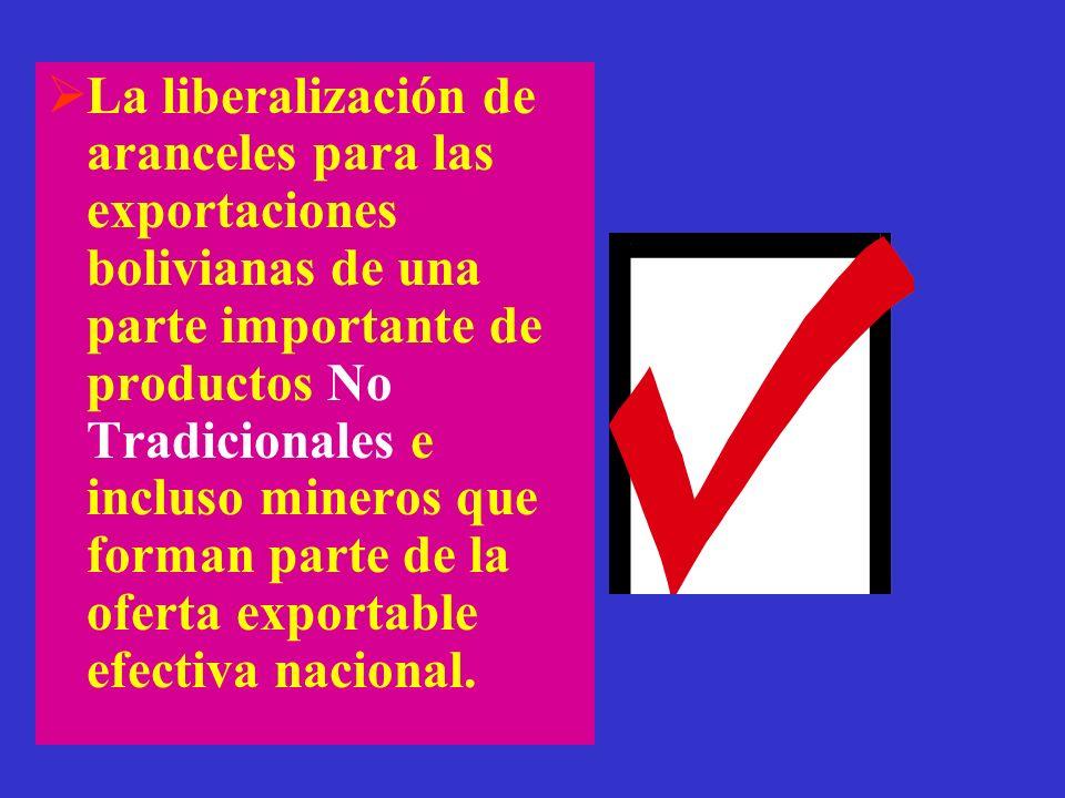 VENTAJAS DEL ACE-22 El régimen de origen para que productos bolivianos y chilenos se beneficien de las preferencias (rebajas) arancelarias que es simi