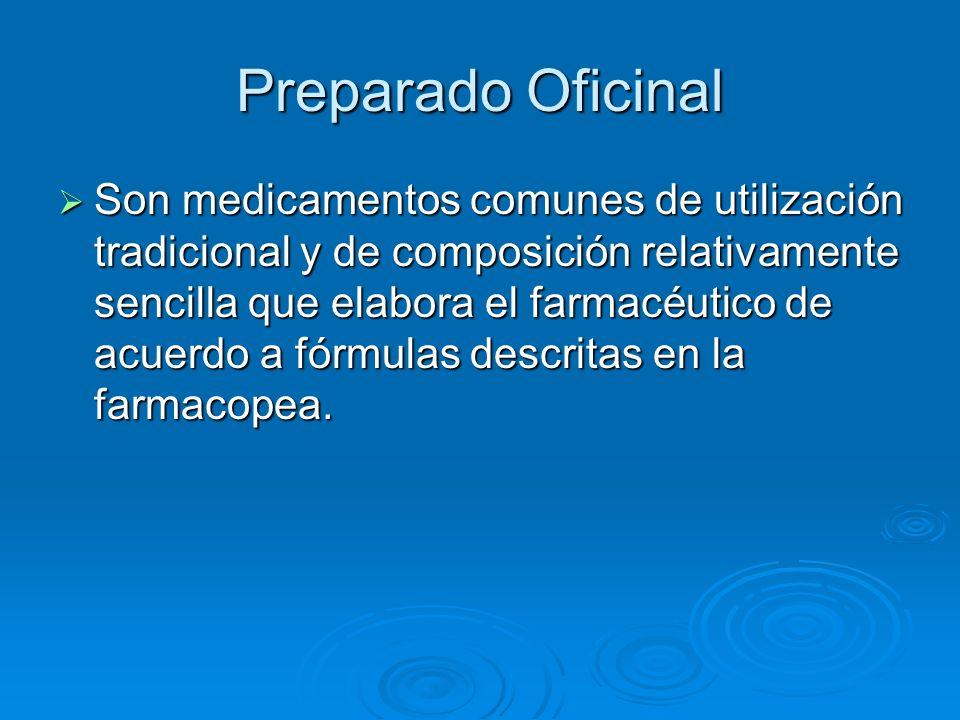 Proyección de la Formulación Magistral Home Health Care.