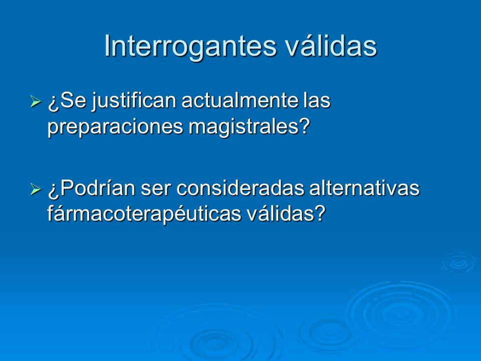 Ventajas de la Fórmula Magistral Terapia medicamentosa personalizada.