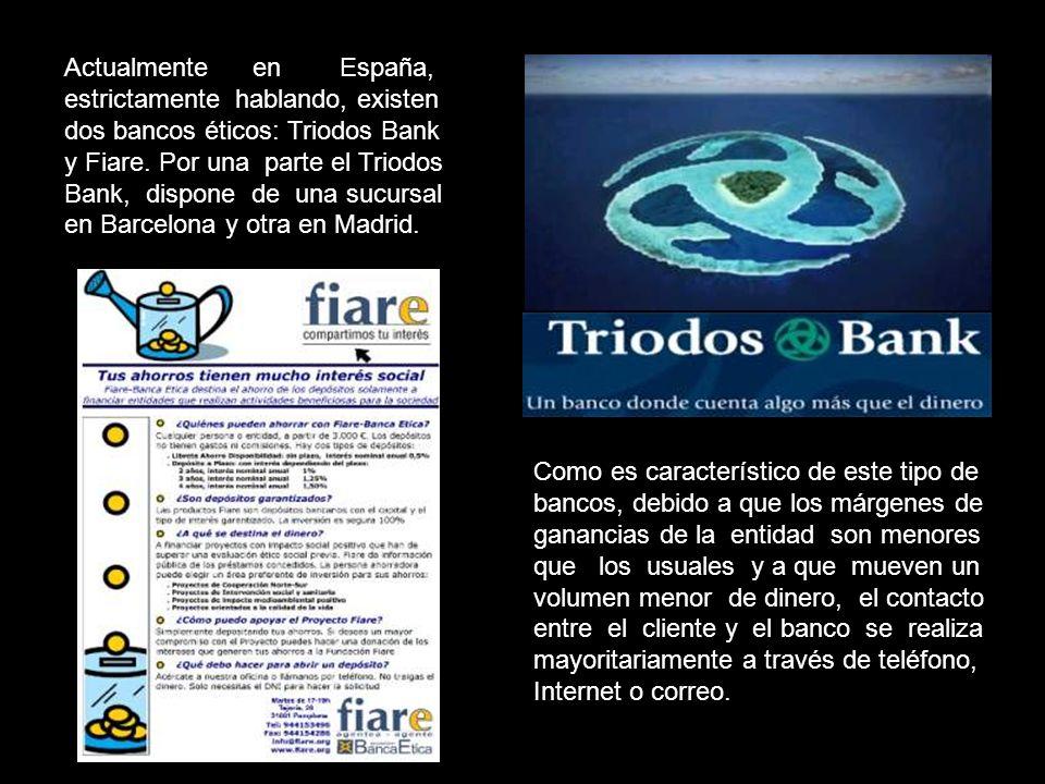 Los bancos éticos, al igual que los tradicionales, están regulados por el Banco de España y tienen que cumplir los mismos requisitos. Al igual que ell