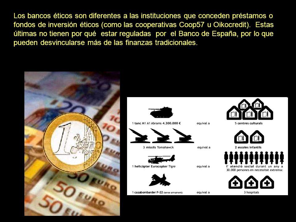 El otro banco ético en España es Fiare Banca Ética, agente de la Banca Popolare Etica, implantada en España por un amplio conglomerado de entidades so