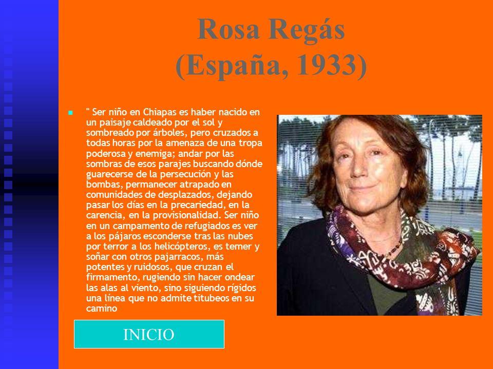 Rosa Regás (España, 1933)