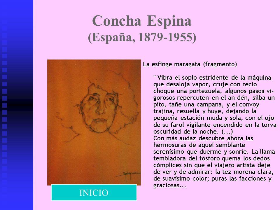 Concha Espina (España, 1879-1955) La esfinge maragata (fragmento)