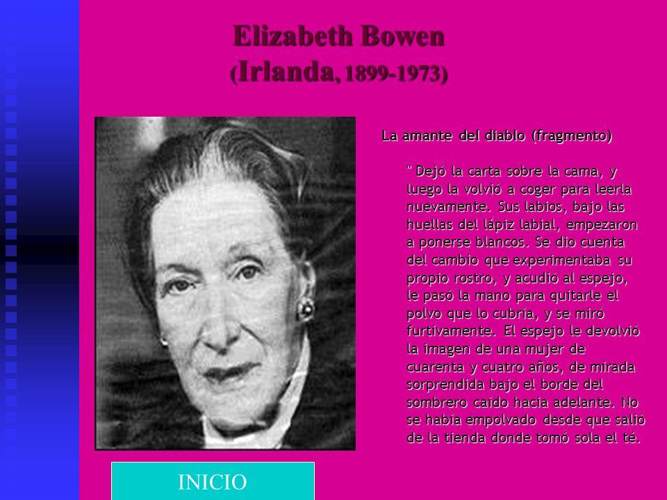Elizabeth Bowen ( Irlanda, 1899-1973) La amante del diablo (fragmento)