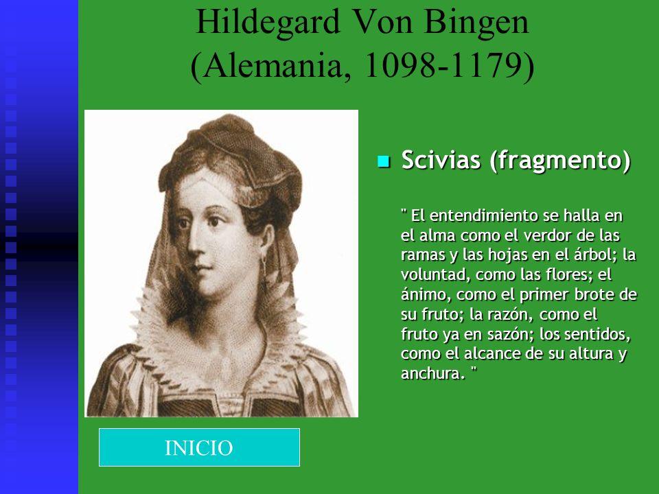 Hildegard Von Bingen (Alemania, 1098-1179) Scivias (fragmento)