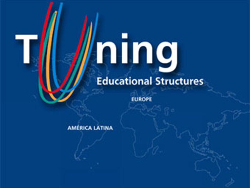 El Proyecto Tuning Es un proyecto desarrollado por 100 universidades de los países integrantes de la Unión Europea, los cuales tratan de comprender y rediseñar los curricula a partir de puntos de referencia comunes para poderlos comparar, con base en el respeto a su autonomía y a su diversidad.